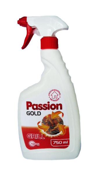 Средство для чистки гриля, духовок и камин,мангалов Passion Gold 750 мл