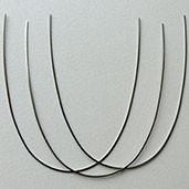 Дуги Ni-Ti термоактивируемые без изгиба
