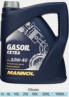Полусинтетическое моторное масло Mannol Gasoil Extra 10W-40 4L