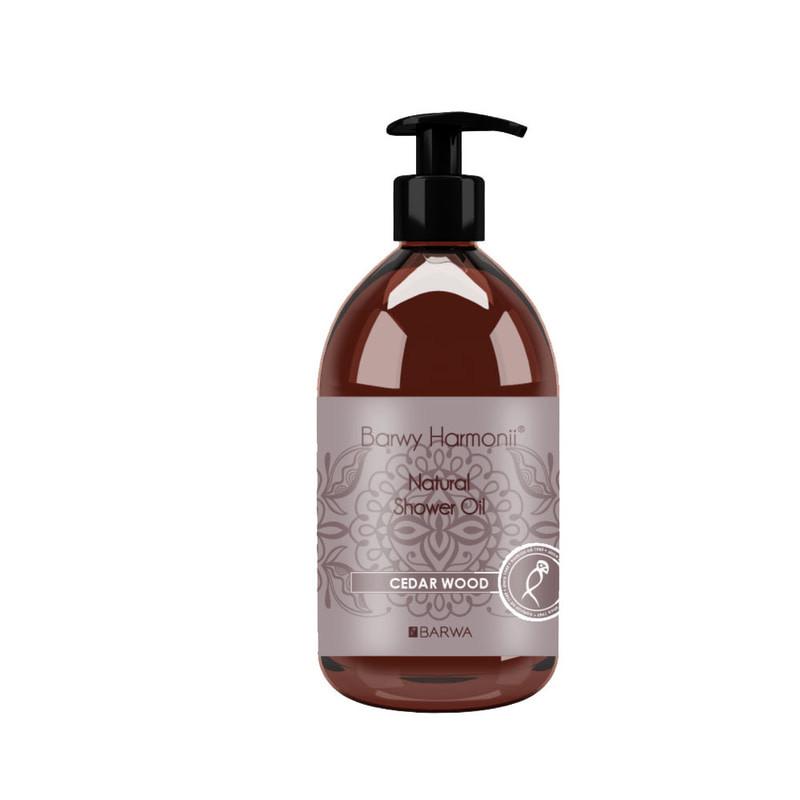 Гель для душа с маслом кедра Barwa Cedar Wood Oil Shower Gel, 440 мл