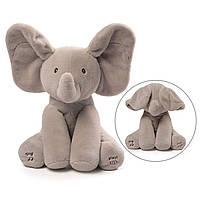 Слоник двигающий ушами GUND Baby  Flappy The Elephant, фото 1