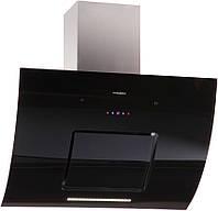 Вытяжка кухонная наклонная PYRAMIDA HES 30 (G-900 MM) BLACK