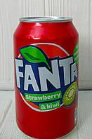 Газированный напиток Fanta Strawberry&Kiwi 330мл (Дания)