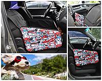 Автогамак, авто чехол для перевозки собак на переднем сиденье автомобиля. Persid Tokyo