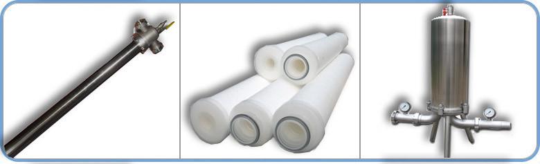Фильтры очистки жидкостей патронные ФПН