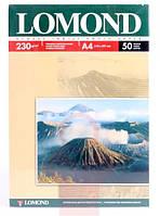 Фотобумага А4, глянцевая, 230гр., 50 л., Lomond