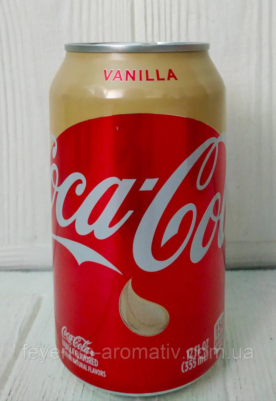Газированный напиток Coca-Cola Vanilla Flavored ванильная кола
