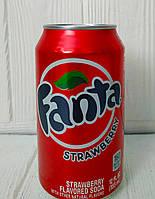 Газированный напиток Fanta Strawberry 355мл (США)