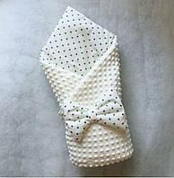 """Плюшевый конверт-одеяло """"Прелесть"""", сьемный синтепон!, фото 1"""