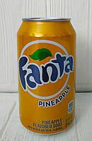 Газированный напиток Fanta PineApple 355мл (США)