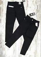 Детские школьные джинсы Tati, для мальчиков 10-13 лет, черные, Турция, оптом