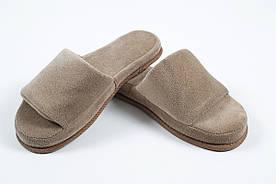 Домашняя обувь Tac - Тапочки Nico kahve 40-44 кофе