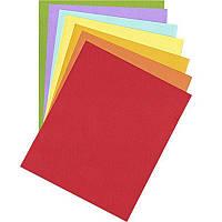 Бумага для пастели В2, 160гр., зеленая, среднее зерно, Rosa, 1 л.