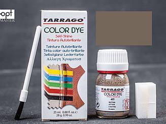 Краска для кожи и текстиля цв.нутрия Tarrago Color Dye, 25 мл,TDC01(41)