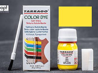 Краситель для гладкой кожи и текстиля Tarrago Color Dye, 25 мл,  цв. ярко-желтый (31) TDC01