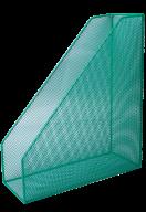 Лоток вертикальный Buromax металлический зелёный