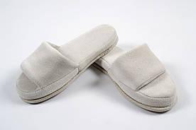 Домашняя обувь Tac - Тапочки Nico inci 36-40 светло-серый