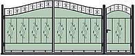 Ворота кованные, модель ВКГ-05