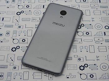 Задняя крышка Meizu m3 серая Сервисный оригинал с разборки