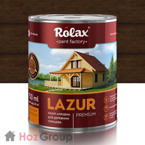 Лазурь для дерева Ролакс 105 орех 0,75л