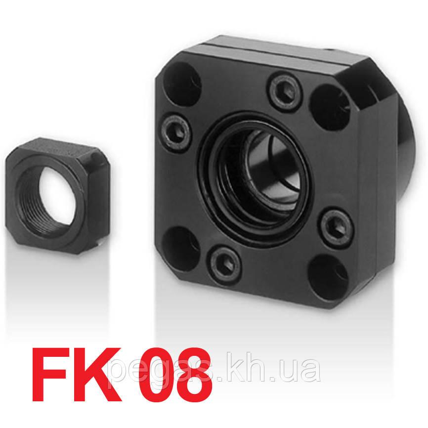 Концевая опора FK08, опора ШВП фланцевая FK08