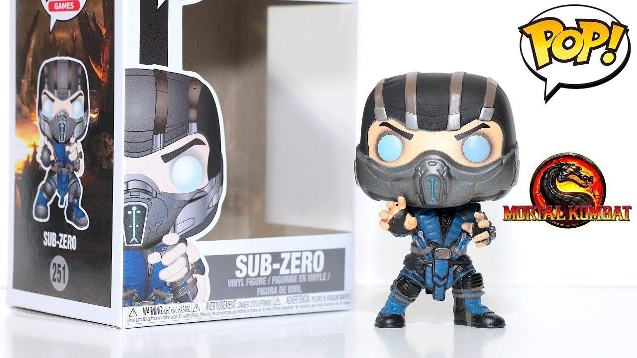 Фигурка Funko POP! Games Mortal Kombat – Subzero