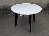 Деревянный стол 900, круглый раскладной