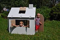 Картонный домик Podarex Картонный домик раскраска из 5-ти слойного картона SKU_423731697