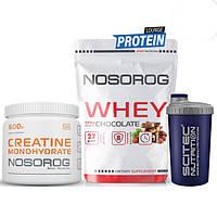 Комплект спортивного питания Протеин+Креатин+Шейкер