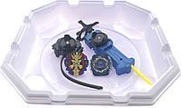 Волчок smart Бейблейд набор с ареной Волчек XENO XCALIBUR.M.I B-48 Beyblade Экскалибур B-48 + B-44 стартер HOLY HORUSOOD. U. с пусковым устройством
