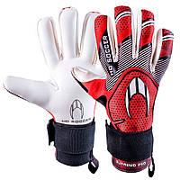 Вратарские перчатки HO Soccer SUPREMO PRO NEGATIVE RED