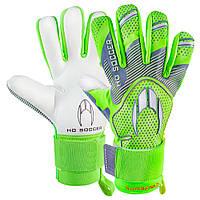 Вратарские перчатки HO Soccer SSG SUPREMO NEGATIVE lime