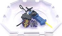Волчок smart Бейблейд набор с ареной Волчек XENO XCALIBUR.M.I B-48 Beyblade Экскалибур B-48 + Wyvron/Wyvern Starter Pack B-41 Вайрон с пусковым