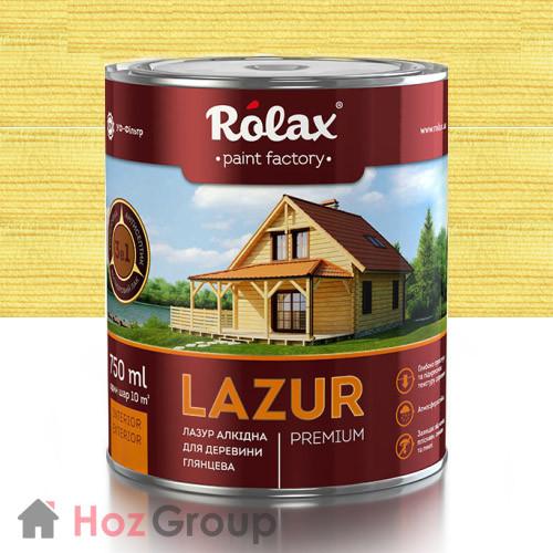 Лазурь для дерева Ролакс 109 бесцветная 2,5л