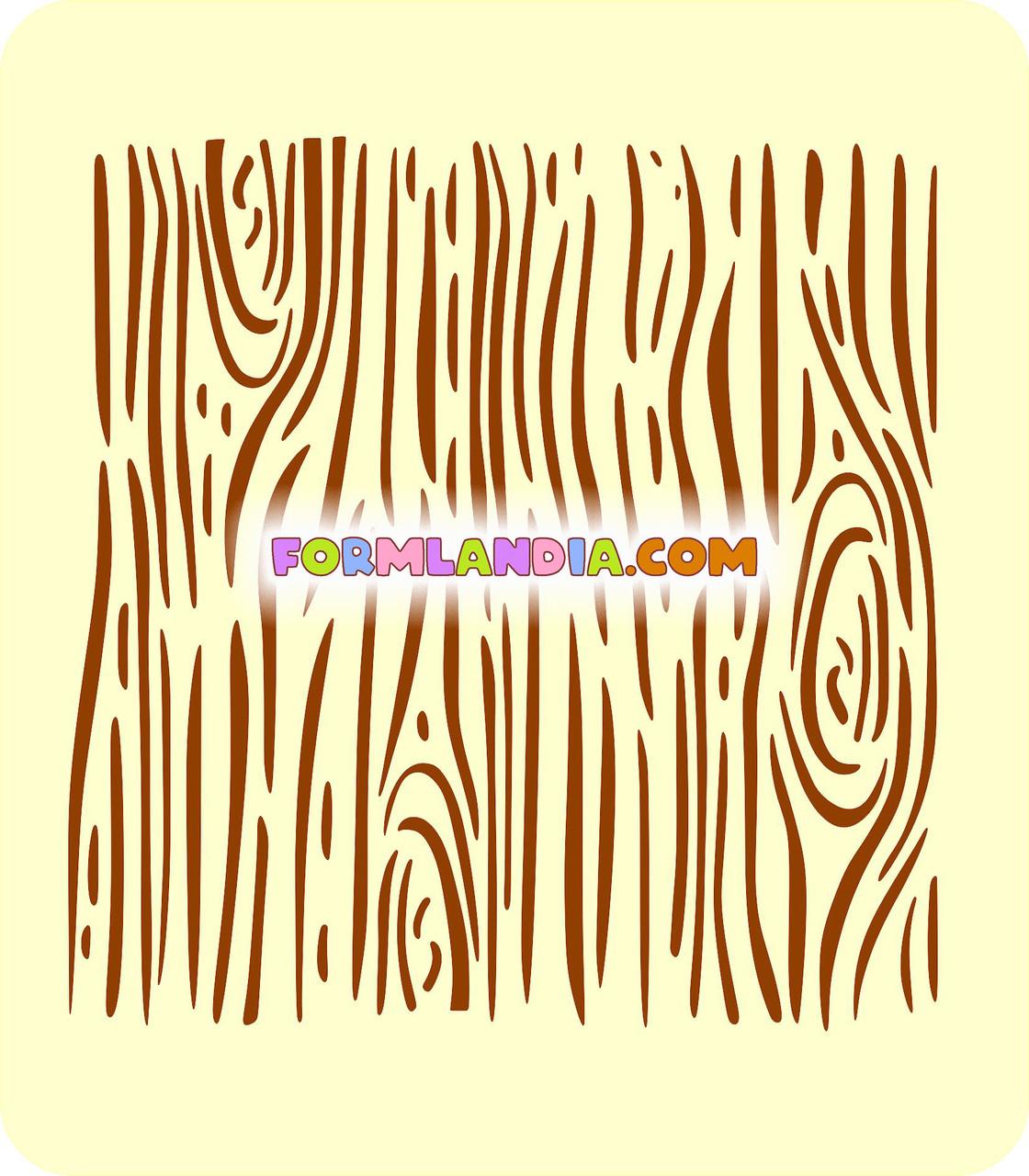 Трафарет для пряников Дерево