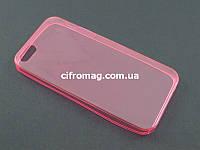 Чехол Remax ультратонкий для Apple iPhone SE 5 5S розовый