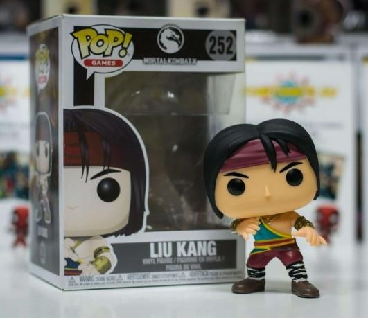 Фигурка Funko POP! Games Mortal Kombat – Liu Kang