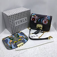 Сумочка со сменным клапаном, реплика бренда Furla Фурла