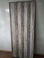 Двері гармошка глуха бамбук 910 81*203*0,6 см розсувна