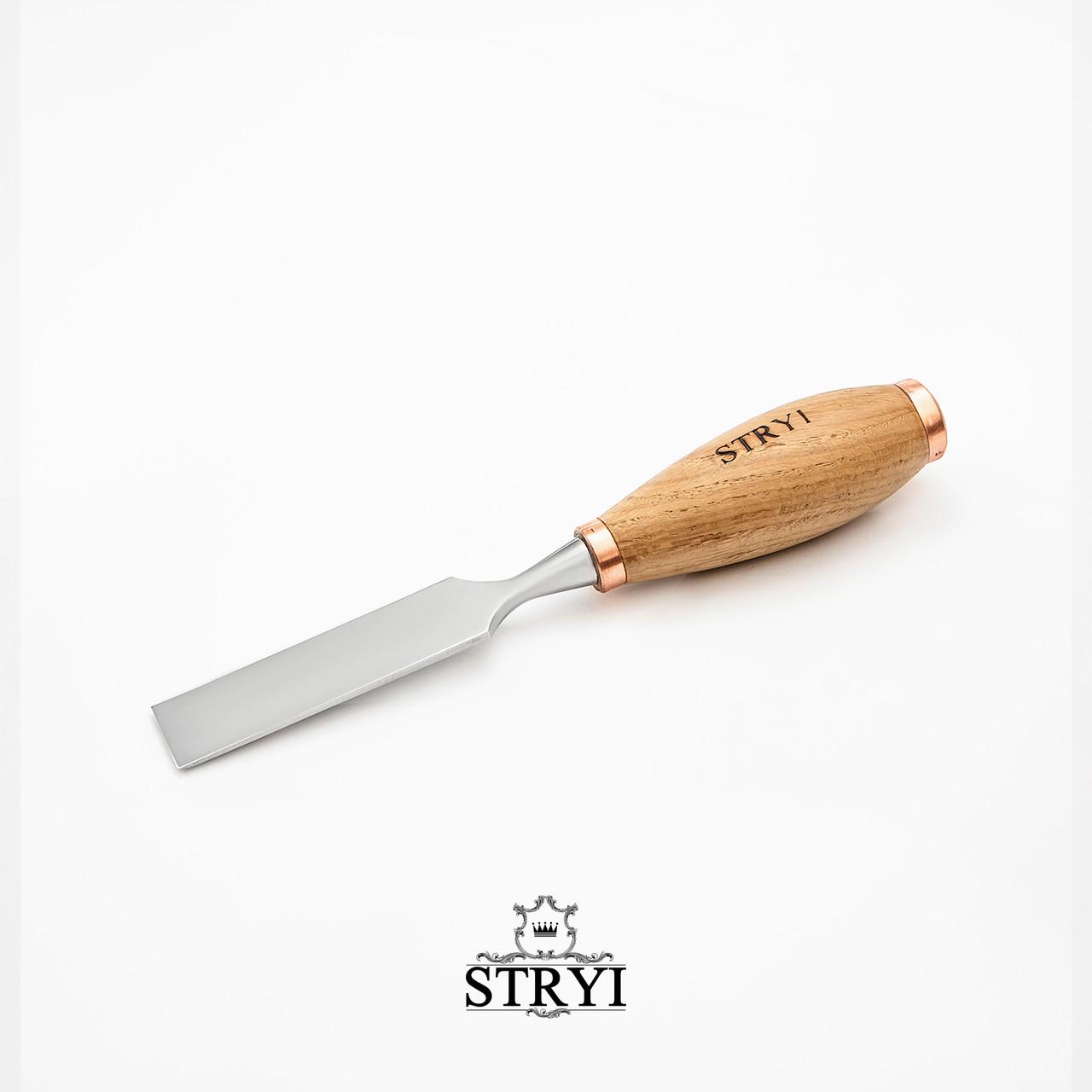 Столярна стамеска 30мм для різьби по дереву від виробника STRYI