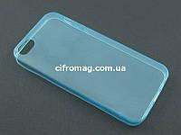 Чехол Remax ультратонкий для Apple iPhone SE 5 5S голубой