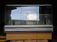"""Кондитерская холодильная витрина бу """"Juka"""" 1,6 м (Польша), фото 1"""