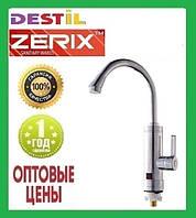 Проточный Водонагреватель Zerix ELW-09 E 3 kW Индикатор Температуры