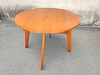 Стол деревянный 1000, круглый раскладной