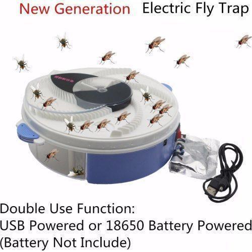 Уничтожители насекомых | Отпугиватели насекомых | Ловушка для насекомых USB Electric Fly Trap Mosquitoes