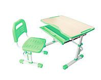 Детская школьная парта со стульчиком FunDesk Vivo  Green