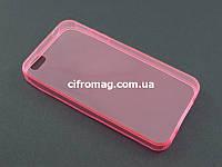 Чехол Remax ультратонкий для Apple iPhone 4 4s розовый