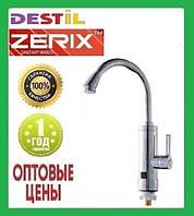 Проточный Водонагреватель Zerix ELW-09 EP 3 kW Индикатор Температуры, УЗО