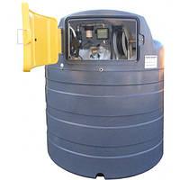 Резервуар Swimer ECO-line 1500 л (емкость, бочка) для дизельного топлива ДТ с узлом раздачи Piusi