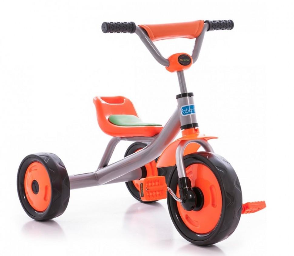 Детский трехколесный велосипед М 1651 оранжевый